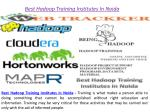 best hadoop training institutes in noida