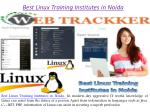best linux training institutes in noida