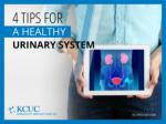4 tips for a healthy urinary system