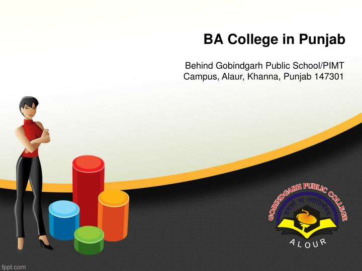 ba college in punjab n.
