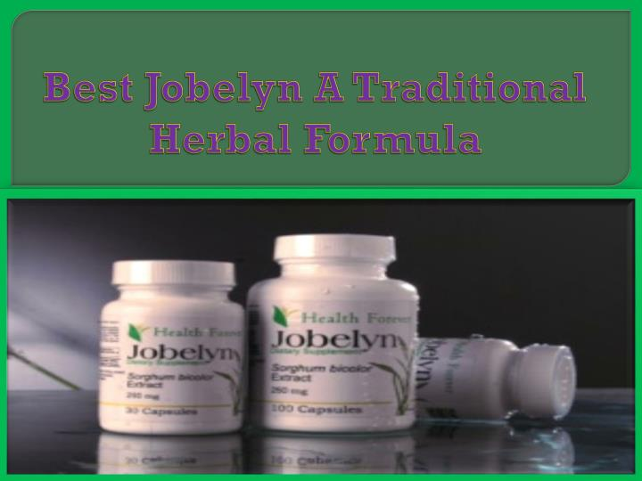 best jobelyn a traditional herbal formula n.