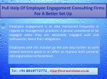 pull help of employee engagement consulting firms 1