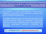 pull help of employee engagement consulting firms 2