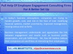 pull help of employee engagement consulting firms 3