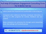 pull help of employee engagement consulting firms 8