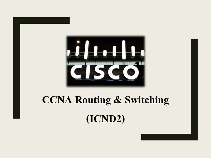 ccna routing switching icnd2 n.