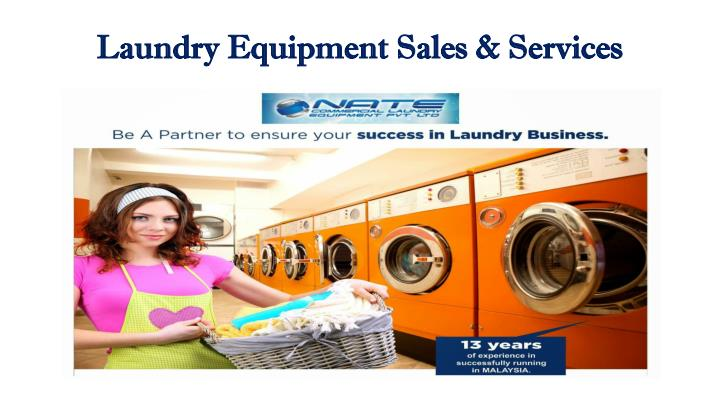 laundry equipment sales services n.