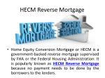 hecm reverse mortgage