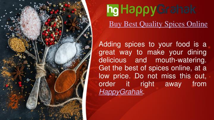 buy best quality spices online n.
