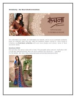 introducing our new collection kanchana