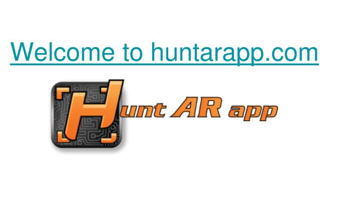 welcome t o huntarapp com n.