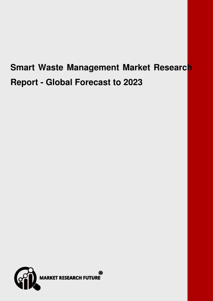smart waste management market research report n.
