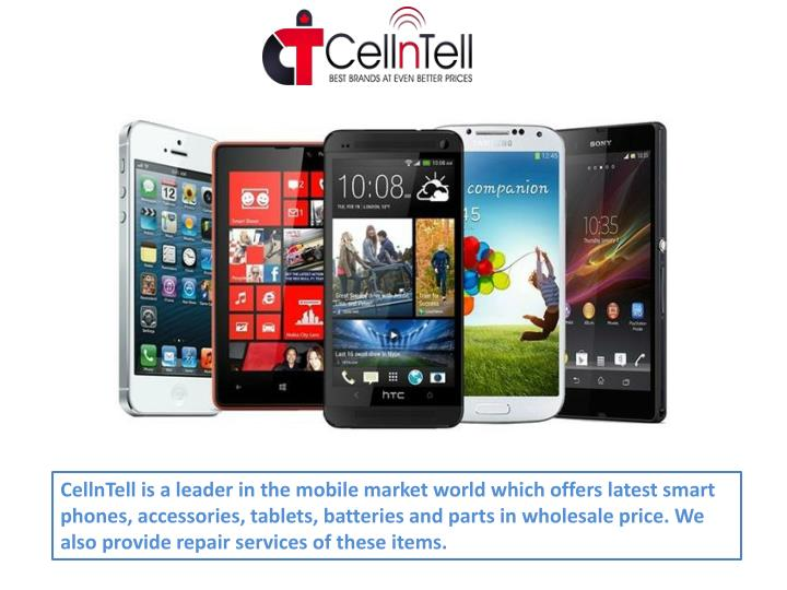 cellntell is a leader in the mobile market world n.