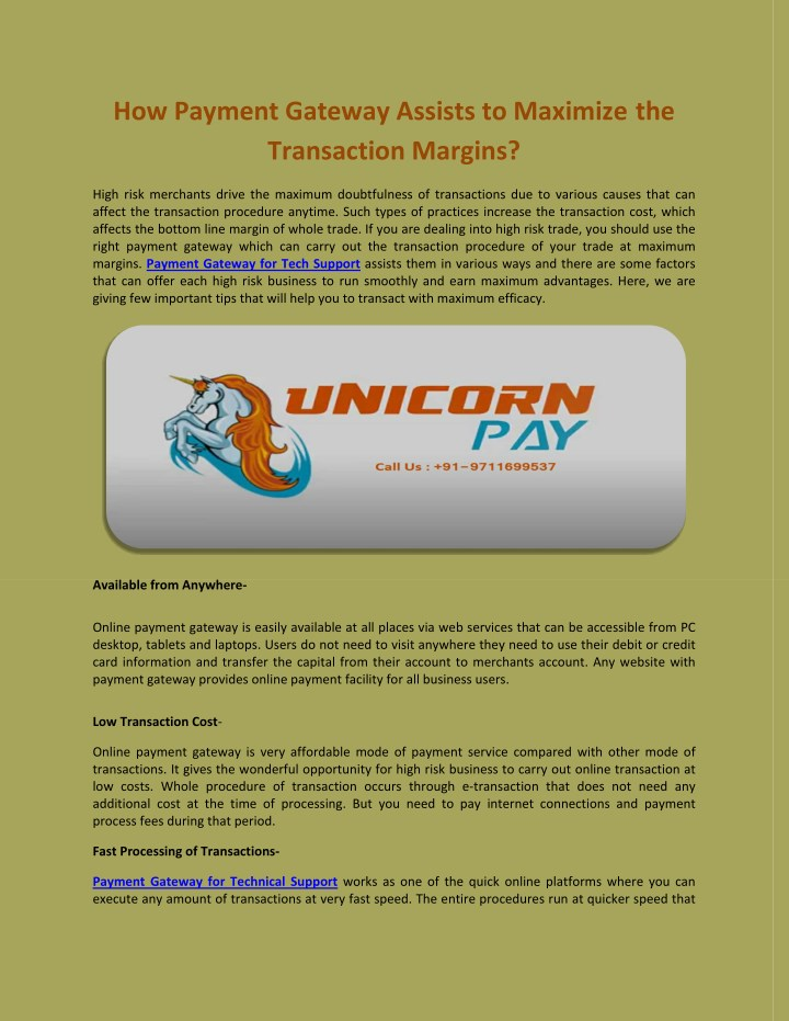 how payment gateway assists to maximize n.