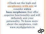 check out the high end earphones with