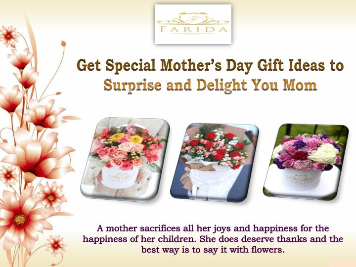get special mother s day gift ideas to surprise n.