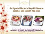get special mother s day gift ideas to surprise