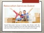 relocation services dubai