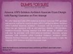 amazon aws solution architect associate exam 1