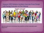 amazon aws solution architect associate exam