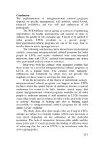 conclusion the implementation