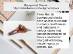 background checks http clickerbank com backgroundcheck 2