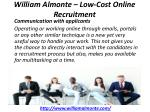 william almonte low cost online recruitment 7