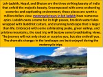leh ladakh nepal and bhutan are the three