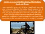 unwind your soul amidst the beauty of leh ladakh