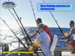 b est fishing charters in islamorada