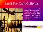 small tool dust collector