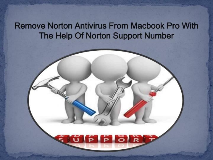 remove norton antivirus from macbook pro with n.