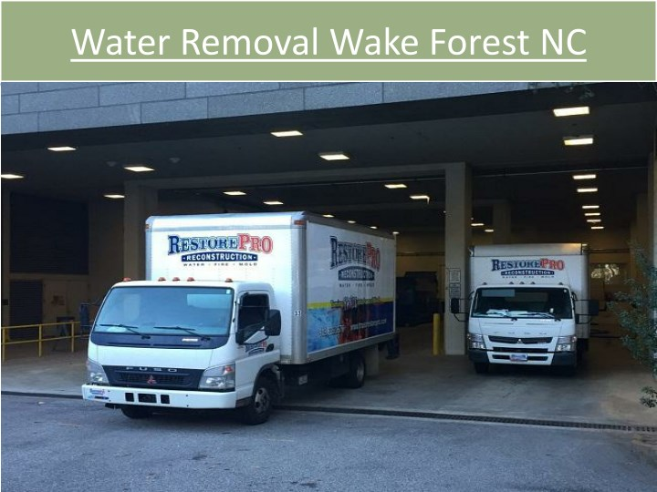 water removal wake forest nc n.