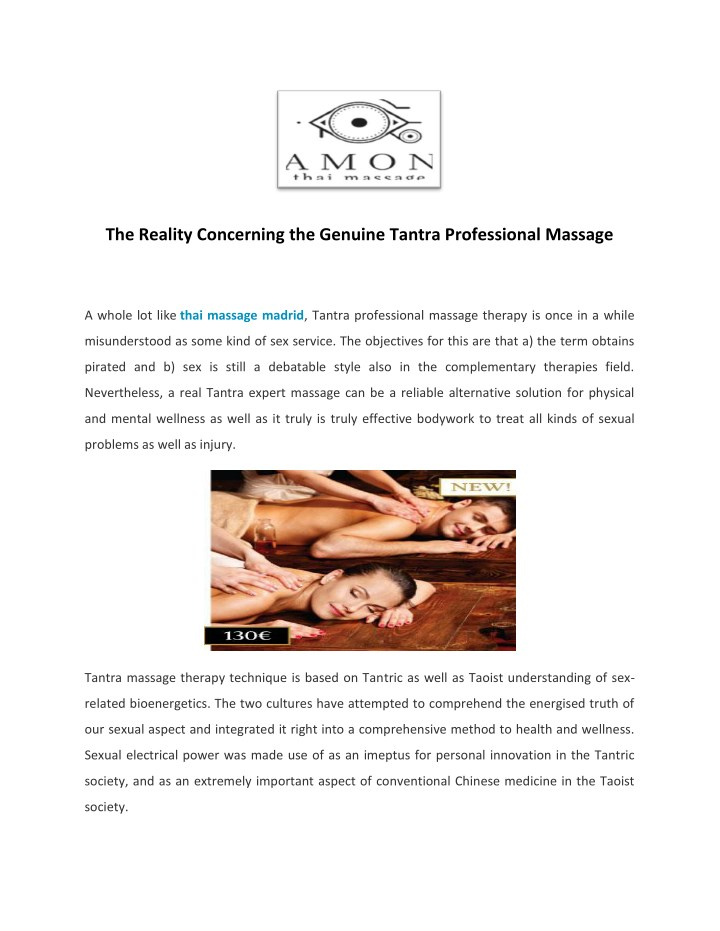 the reality concerning the genuine tantra n.