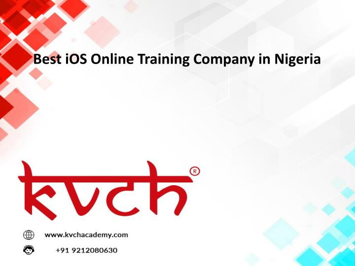 best ios online training company in nigeria n.