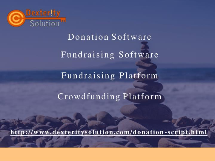donation software fundraising software fundraising platform crowdfunding platform n.