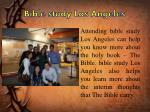 bible study los angeles