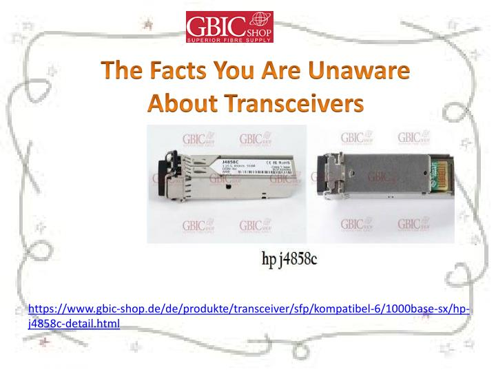 the facts you are unaware about transceivers n.