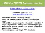 iscom 361 master successful learning 12