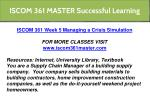 iscom 361 master successful learning 26