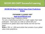 iscom 383 cart successful learning 18