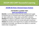iscom 383 cart successful learning 8