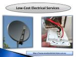 low cost electrical services 1