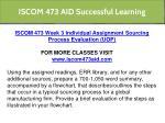 iscom 473 aid successful learning 7