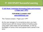 it 200 study successful learning 8