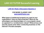 law 421 tutor successful learning 9