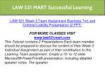 law 531 mart successful learning 20