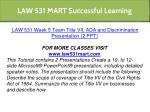 law 531 mart successful learning 27