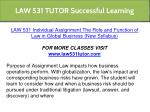 law 531 tutor successful learning 8