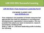 ldr 300 edu successful learning 22